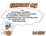 Louisiana State 3-5 grade PE Standard 2 GLE 's