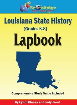 Louisiana State History Lapbook