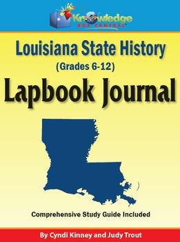 Louisiana State History Lapbook Journal