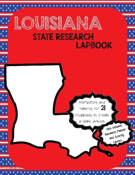 Louisiana State Research Lapbook Interactive Project