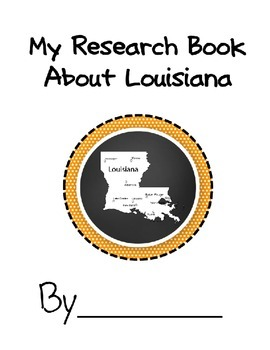Louisiana State Student Research Book