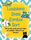 Louisiana State Symbol Sorting Game!!