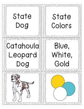 Louisiana State Symbol Sorting Game!!