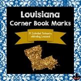 Louisiana State Symbols Corner Book Marks