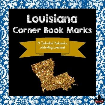 Louisiana State Symbols Corner Book Marks By Red Stick Teaching