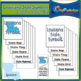 Louisiana State Symbols Interactive Foldable Booklets