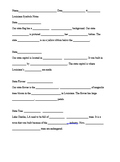 Louisiana State Symbols Notes/Quiz/Project (Editable)
