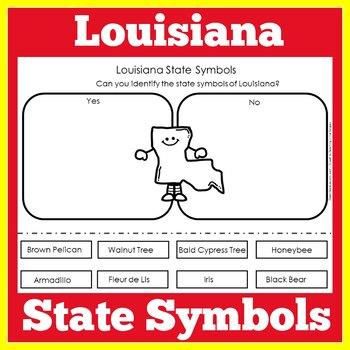 Louisiana State Symbols Worksheet