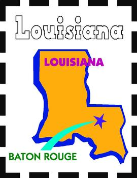 Louisiana State Symbols and Research Packet