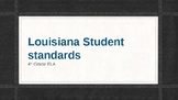 Louisiana Student Standards Posters 4th Grade ELA