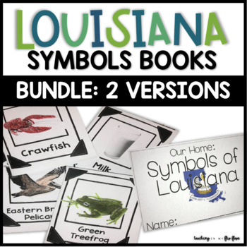 Louisiana Symbols Books Bundle By Teaching In My Flip Flops Tpt