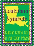 Louisiana Symbols Bulletin Board Set