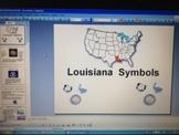 Louisiana State Symbols PowerPoint - Louisiana Standards Unit 1 Topic 3