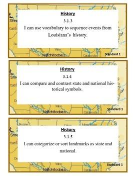 Louisiana Third Grade I Can Statements