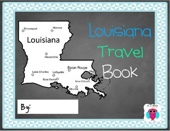 Louisiana Travel Journal