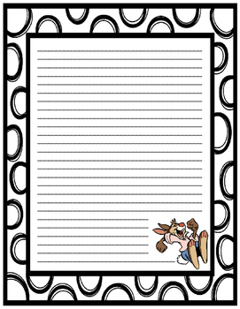 Louisiana Trickster Tale Narrative Writing Task with Paper