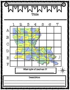 Louisiana Types of Maps