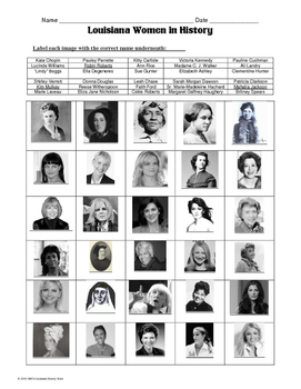 MARCH is Louisiana & Women's History Month