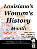Louisiana Women's History Month