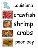 Louisiana Word Wall Cards