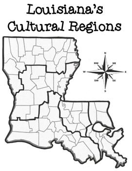 Louisiana's Cultural Regions Printables Pack