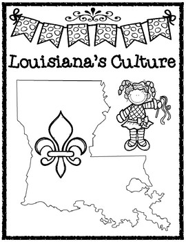 Louisiana's Culture Guiding Question Writing Task and Rubric