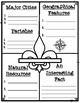 Louisiana's Geographical Regions Research Packet and Graphic Organizer