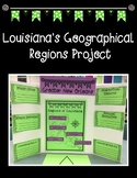 Louisiana's Geographical Regions Research Project