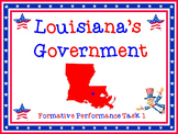 Louisiana's Government Comprehensive Unit Bundle