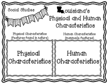 Louisiana's Human and Physical Characteristics