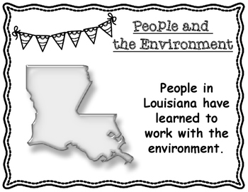 Louisiana's People and the Environment