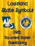 Louisiana Symbols DBQ (Document Based Questioning)