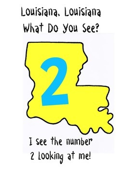 Louisiana what do you see?  I see numbers looking at me!