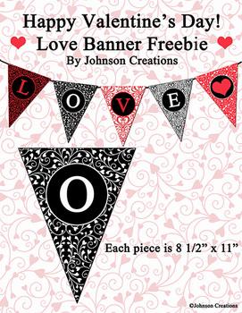 Love Banner Freebie