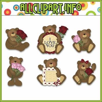 Love Bears Clip Art - Cheryl Seslar Clip Art
