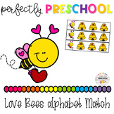 Love Bees Alphabet Match