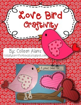 Love Bird Craftivity