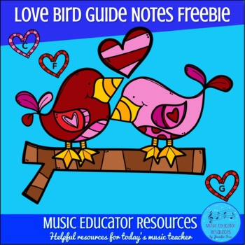 Love Bird Guide Notes FREEBIE