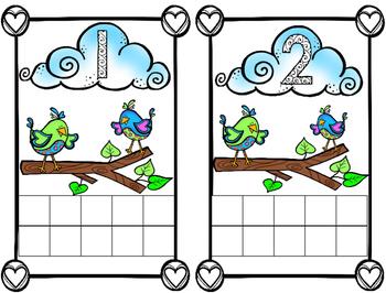 Love Bird Math Frame
