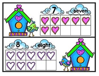Love Bird Ten Frame
