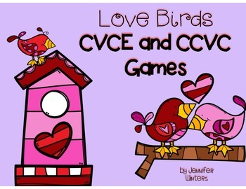 Love Birds CVCE and CCVC Games