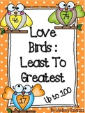 Valenine's Day Love Birds: Least To Greatest