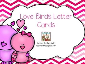 Love Birds Letter Cards