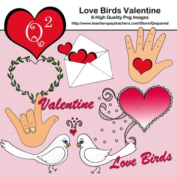 Love Birds Valentine Kit