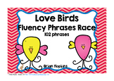Love Birds Valentine's Day Fluency Phrases Race