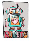 Love Bot - Robot Clip Art