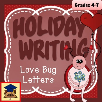 Love Bug: A Valentine's Day Descriptive Writing Activity (Common Core Aligned)