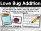 Love Bug Addition - Addition Practice