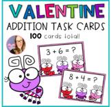 Love Bug Addition Task Cards