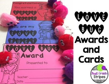 Love Bug Awards and Cards